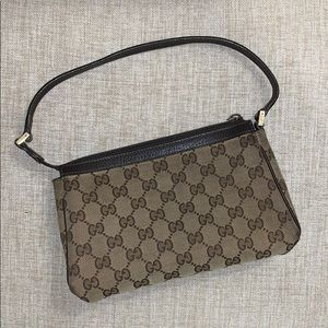 Gucci Monogram D Ring Cosmetic Case